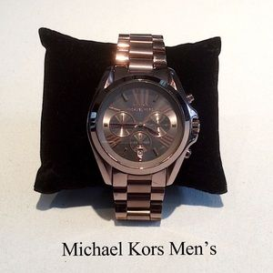 Michael Kors Stainless Steel Men's Watch NWOT